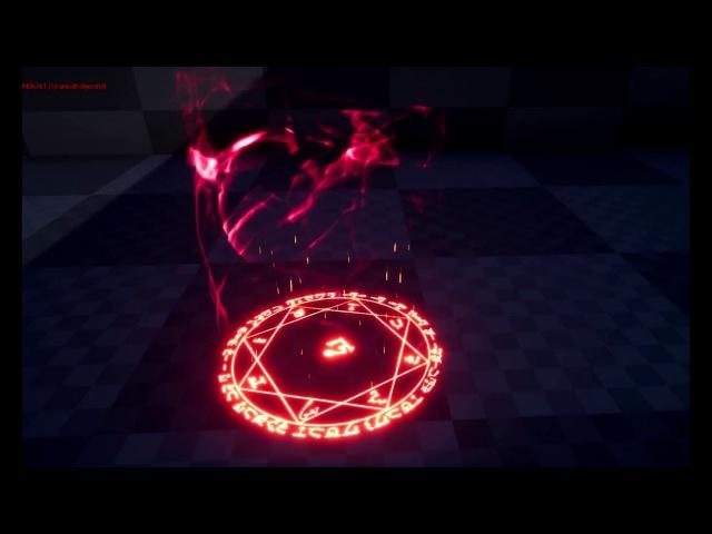 VFX Magic Circle для Unreal Engine 4