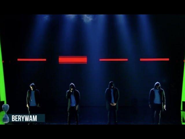 Berywam - Tu si que vales (The semifinal / O Fortuna) - Beatbox