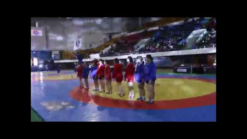 Demo SAMBO at the opening ceremony of the Mongolian Sambo Championships 2018