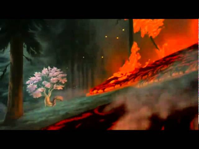 Disney Fantasia, Mother nature to music of Hans zimmer