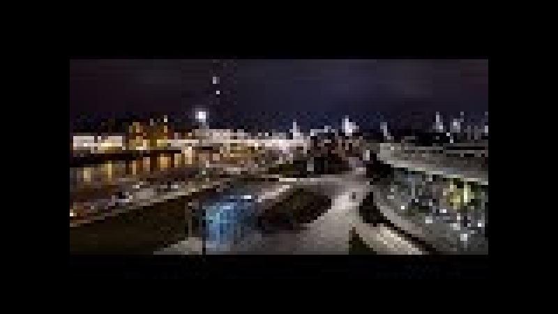 Сумасшедшие огни Москвы шикарная зона Зарядье Лучшие виды ночной Москвы Russia Moscow