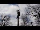 Масленица. Аккерман. Масленичный столб. Часть 3./Maslenitsa. Akkerman. The ice pillar. Part 3.