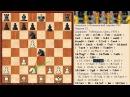Мини-мельница! Шахматная ловушка 21 в Итальянской партии (С54).