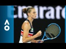 Barbora Strycova v Karolina Pliskova match highlights (4R) | Australian Open 2018