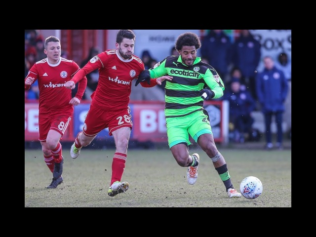 Accrington Stanley 3 Forest Green Rovers 1