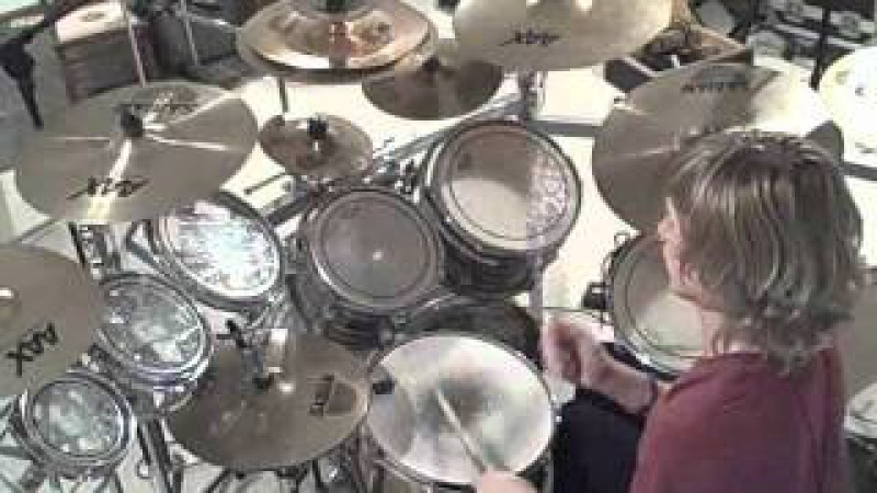 Kyle Abbott System of a Down Tentative Drum Cover