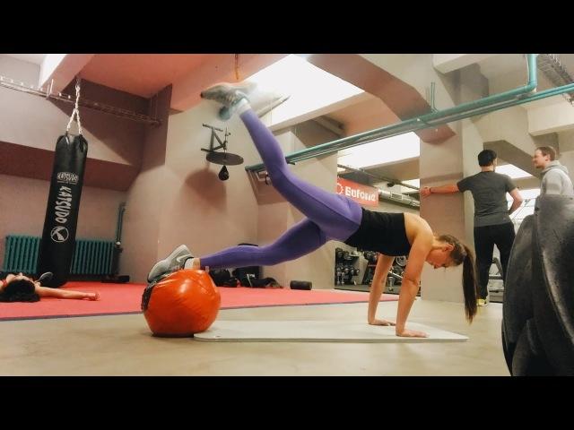 💦 Экспресс тренировка за 6 минут: ягодицы, пресс, кор • VIMO.FITNESS