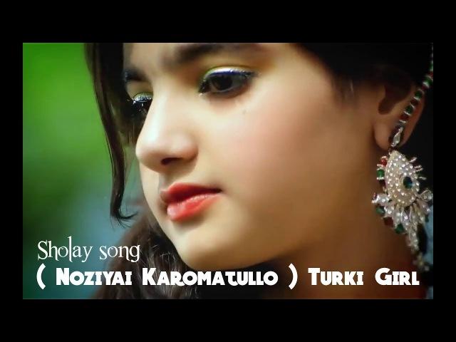 Keren Gadis Turki Nyanyikan Lagu India Merdu Suaranya Sholay song ( Noziyai Karomatullo )
