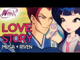 Winx Club – Musa and Riven's love story [from Season 1 to Season 6]