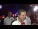 Сирийская спортивная аудитория празднует песней Qassion