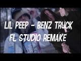 Lil Peep - Benz Truck (FL STUDIO REMAKE + FLP)