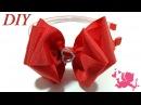 How To Make Hair Bows 🎀 DIY 190 Grosgrain Ribbon Hair Bow Tutorial