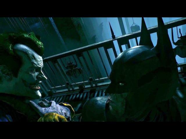 Бэтмен изгоняет Джокера из своего разума. Batman: Arkham Knight. 2015