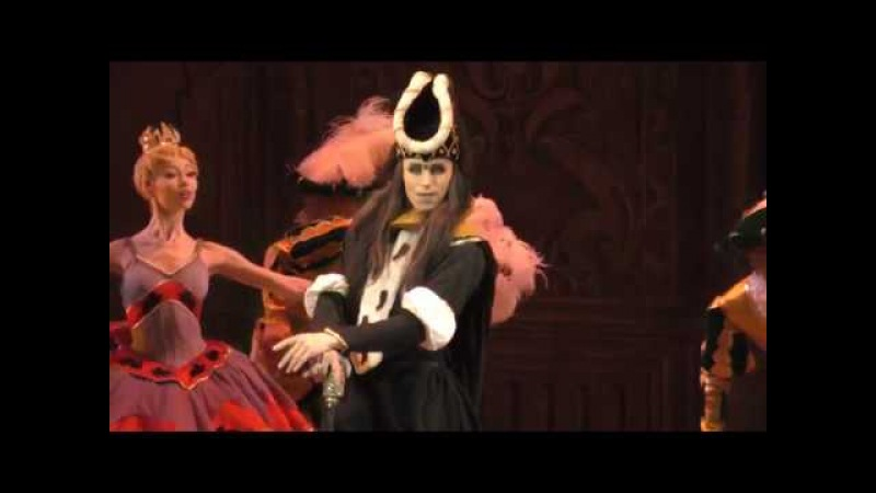 08 03 18 Igor Kolb as Carabosse fairy in Vikharev's the Sleeping Beauty