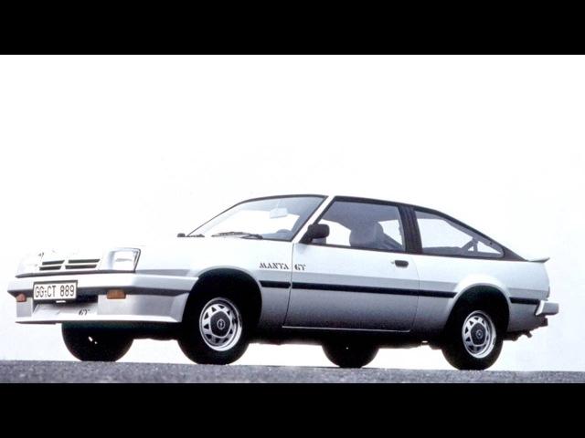Opel Manta CC GT B '1983–88