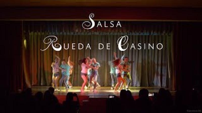 Сальса Руэда Отчётный концерт Dance Studio 25 5