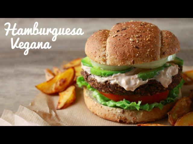 HAMBURGUESA VEGANA | Fácil Saludable