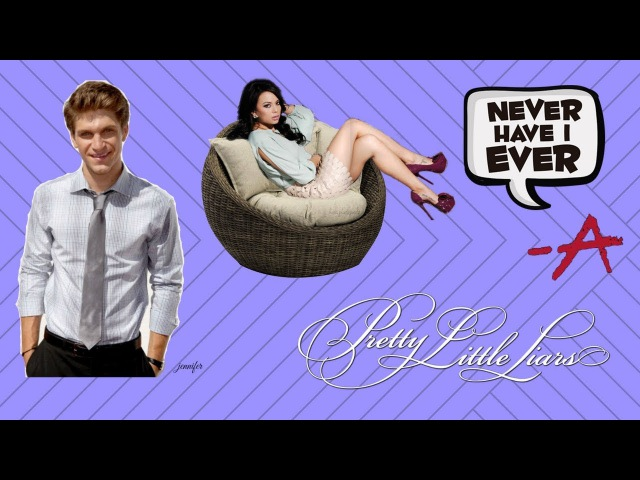Keegan Allen And Janel Parrish Play 'Never Have I Ever' PLL Edition!