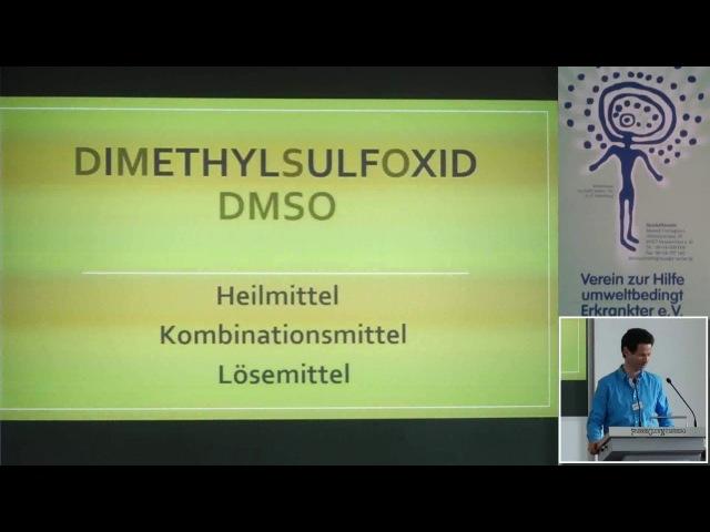 1 2 Dr rer nat Hartmut Fischer DMSO Therapiemöglichkeiten chronischer Erkrankungen