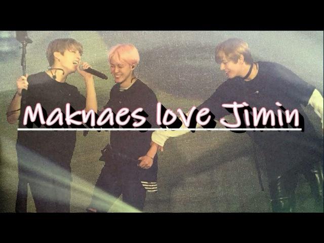 VKOOK LOVE JIMIN 2017(VKOOK's Reactions to Jimin, jealous VKook VMinKook Cute Moments)
