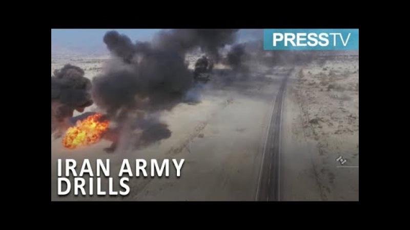 Iran army begins drills near Strait of Hormuz