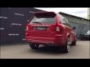 Custom exhaust на компонентах fortluft сваренный в fili tek на Volvo XC90 V8