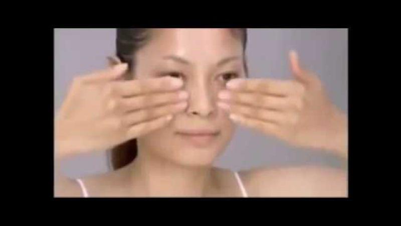 Омолаживающий лимфодренажный массаж лица японская техника