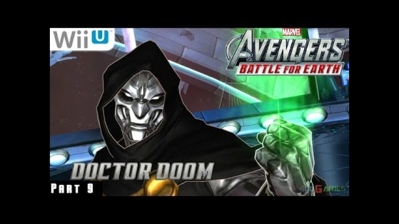 Marvel Avengers Battle for Earth - WiiU Gameplay 1080p part 9 (The Peak Completed)