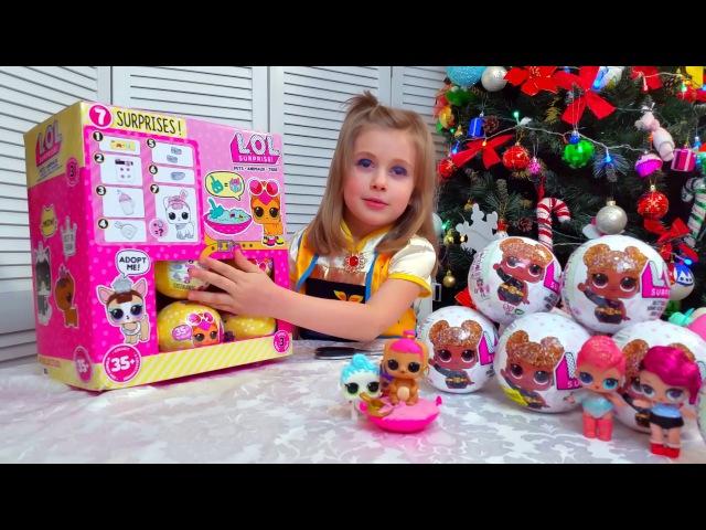 LOL PETS PUPPY Куклы ЛОЛ и Настюшик LOL SURPRISE КУКЛЫ ЛОЛ СЕРИИ CONFETTI Сюрпризы и куклы глитер