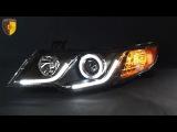Тюнинг фары Киа Церато 2 / Headlights Kia Cerato Forte Sedan Koup
