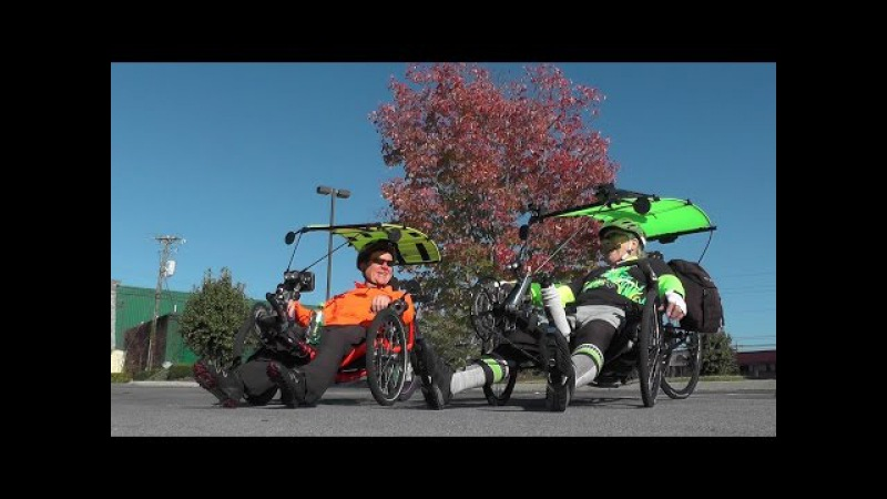 Recumbent Trike Tour, Pigeon Forge, TN 2014-10-23 Catrike, ActionBent