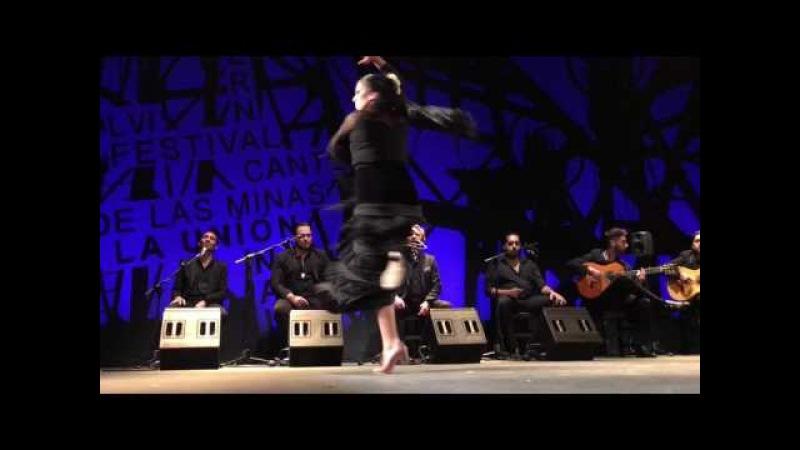 Belén López, Taranto en la Semifinal del Cante de las Minas. Premio El Desplante
