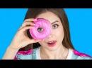 DIY Кавайные ПОНЧИКИ 🍩 Декор Организация Канцелярия в виде пончиков 🐞 Afinka