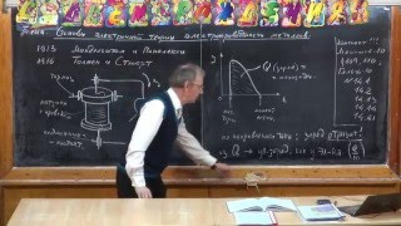 Урок 294. Основы электронной теории электропроводности металлов » Freewka.com - Смотреть онлайн в хорощем качестве
