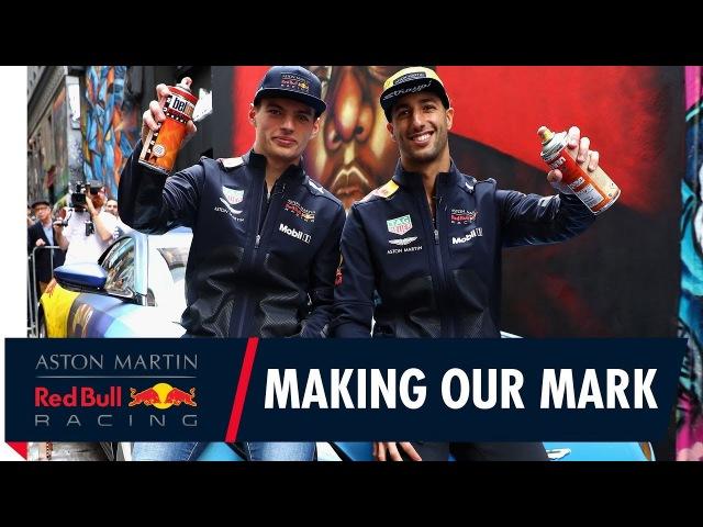 Daniel Ricciardo and Max Verstappen make their mark ahead of the Australian Grand Prix