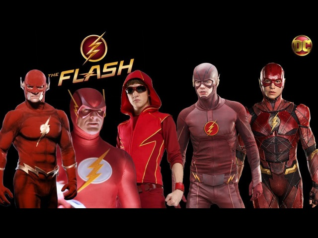 THE FLASH comparison from 90s to 2017 ★ WHO IS THE BEST