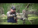 Lost Creek Country Club Golf Course Supt Craig Loving saves an owl