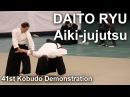 Daito-ryu Aiki-jujutsu Takumakai - 41st Kobudo Demonstration 2018