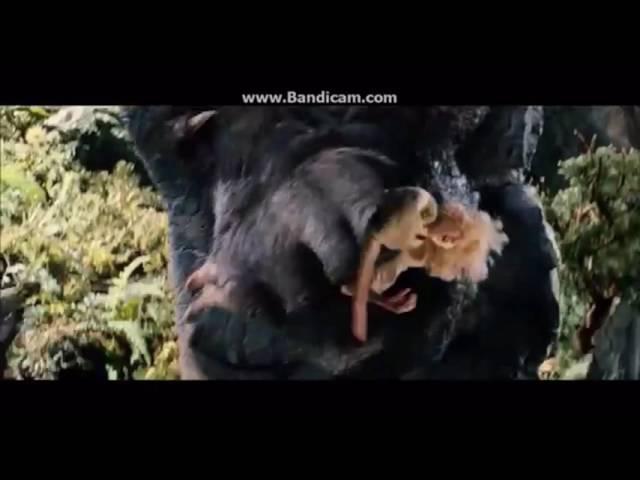King Kong vs vastatosaurus. ( fan dub )