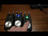 Обзор и переделка сигнализаторов поклевки RF 698 4+1 / Monster Carp