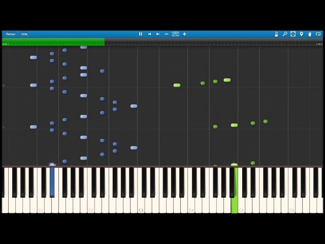 Synthesia / Czerny opus740 no2 (Sol majeur G major)