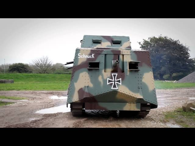 The A7V - German WWI replica tank | The Tank Museum