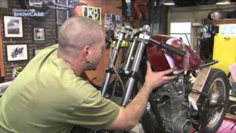 Гоночный мотоцикл Cafe Racer 3 сезон 4 серия (2012)