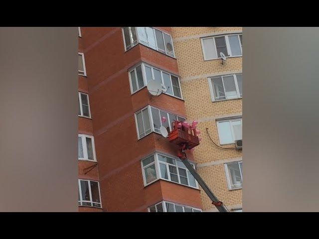 Житель Пушкино сделал крутое предложение девушке - Подмосковье 2018 г.