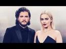 Emilia Clarke & Kit Harington at the Golden Globe Awards 2018   Daenerys & Jon Snow