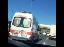 Magistral Yolda Ambulans ile yaris