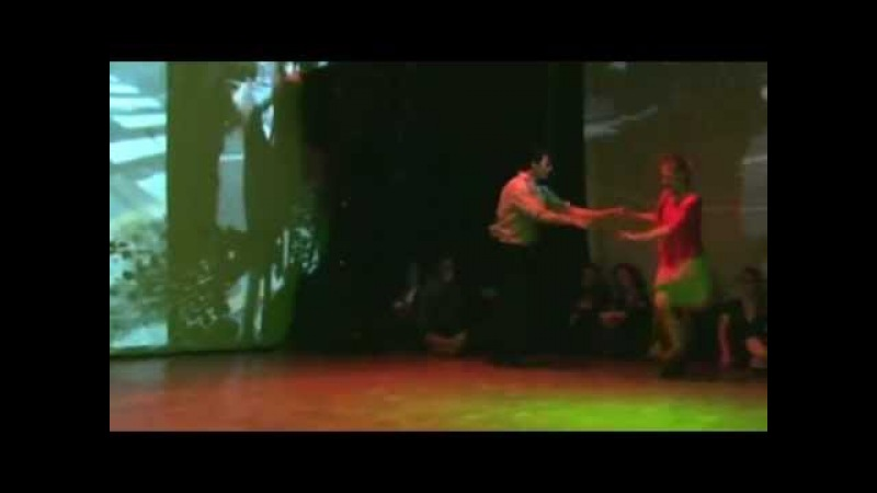 Contact Tango Improvisation by Ezequiel Lydia, at NeoTango Rave 2012, Bremen, Germany