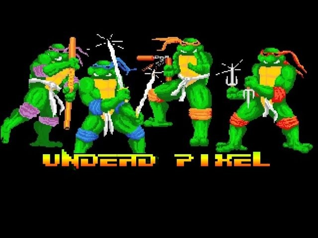 Teenage Mutant Hero Turtles [UP.31] Amiga