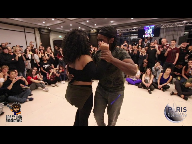 Laurent Adeline  Animal Elji Beatzkilla @ Paris Kizomba Congress 2017