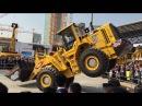Мастер-класс водителя фронтального погрузчика FL956 Amazing crazy driver front loader